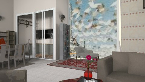 caribbean paper birds - Country - Living room - by faar70