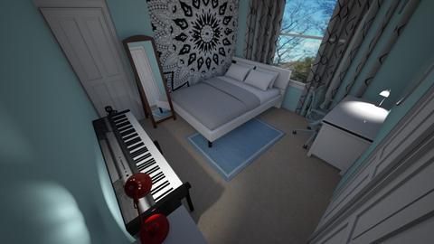 Room Plan 2 - Bedroom - by BeckAsHeck