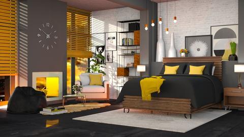 Meio seculo - Bedroom - by soralobo