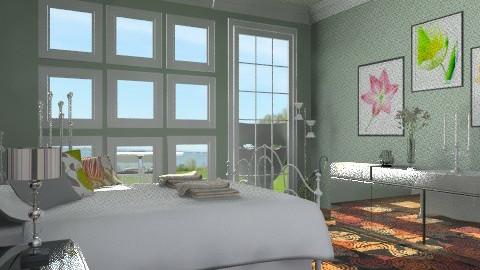 BT - Eclectic - Bedroom - by milyca8