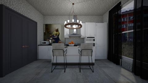 apartment 2 kitchen  - Kitchen - by guyciara87