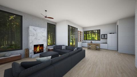 Column  - Living room - by Sarah Anjuli Gailey