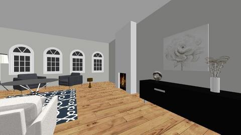Modern livingroom - by Lauren Hanson