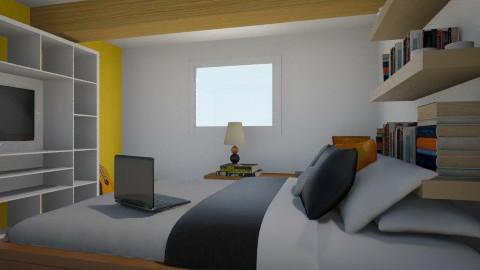 Slaapkamer Bart - Modern - Bedroom - by Sunshinedriver