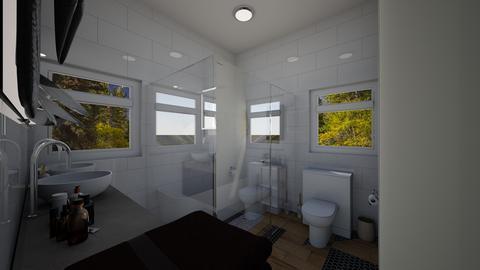 studio bathroom - by dreabaas14