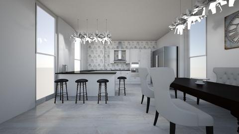 Ure - Modern - Kitchen - by sabrinaure1