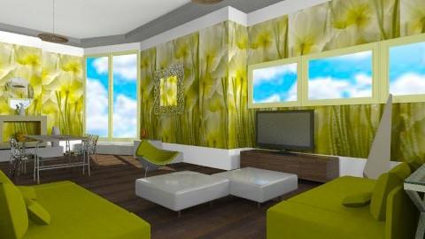 Fresh floral - Minimal - Living room - by mrschicken