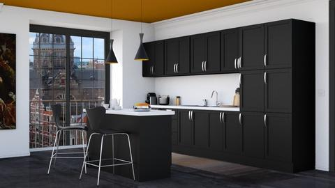 modern kitchen Amsterdam - Modern - Kitchen - by HenkRetro1960
