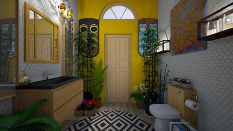 restroom 11 - Bathroom - by GeGe Kanthip