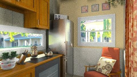 New kitchen3 - Classic - Kitchen - by milyca8