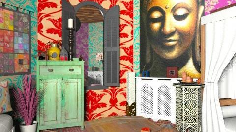Ethnic Slumber - Global - Bedroom - by missjojo