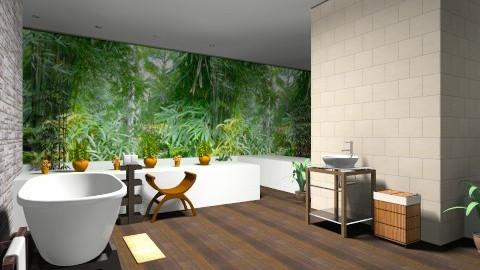 Spa Bathroom - Bathroom - by Regi Fransiskus
