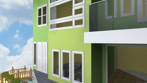 groovy green - Modern - by nixxatheya