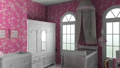 pink nursery - Classic - Kids room - by teen bedroom