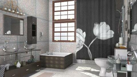C - Modern - Bathroom - by milyca8