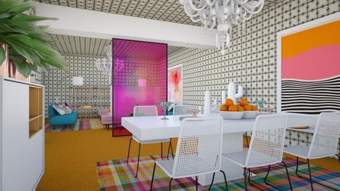 Orange Carpet - by chania