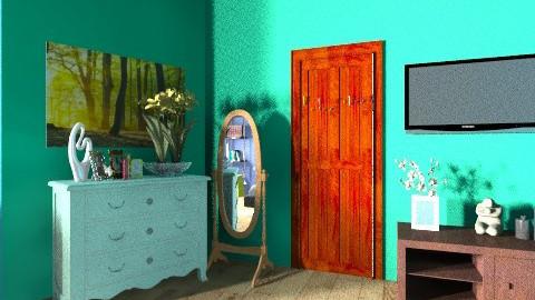my room - Bedroom - by elainny_0