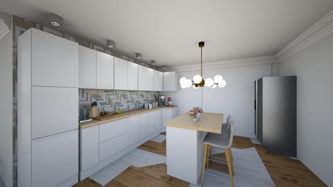 Open plan - Modern - Kitchen - by CNS modern desighn
