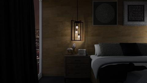 Rustic Bedroom - Rustic - Bedroom - by GinnyGranger394