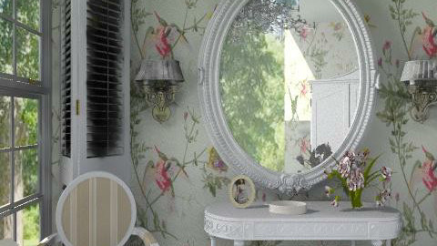 The mirror - Glamour - Bedroom - by milyca8