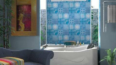 Dream bathroom - Eclectic - Bathroom - by alleypea