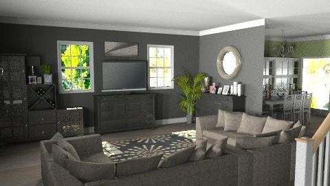 Suburban Living Room - Modern - by deleted_1519128424_HeatherInWonderl