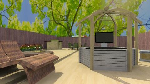 Outdoor fun - Modern - Garden - by wiljun