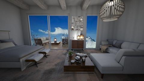 Durmitor Suite IV - Minimal - Living room - by Daria Marienko
