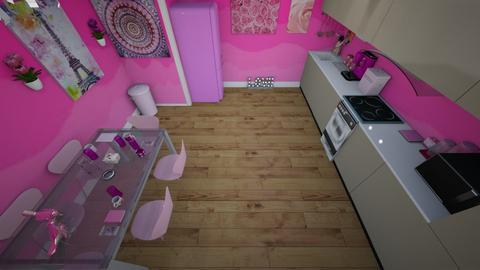 Barbie kitchen - Glamour - Kitchen - by Stavroula Chatzina