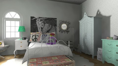 soft glow - Vintage - Bedroom - by Faten  Othman