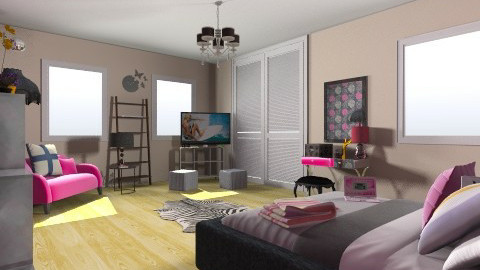 Reading corner - Glamour - Bedroom - by user_8518703