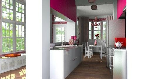 Garden home kitchen - Eclectic - Kitchen - by alleypea