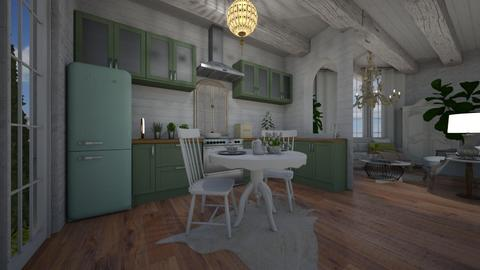 shabby kitchen  - Kitchen - by willhenning