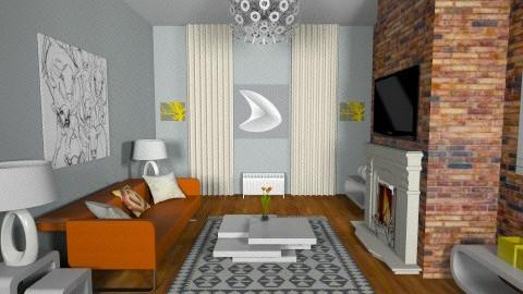 after - Modern - Living room - by Desmonde Monroe