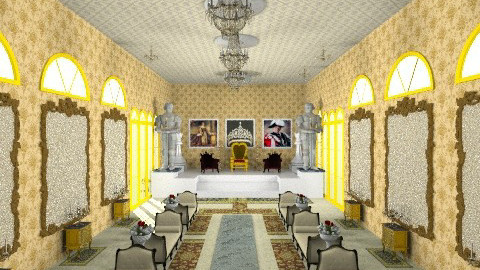 Royal Court Room - Classic - by Kavish