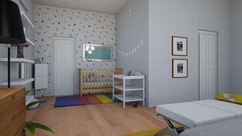 bedroom - by Caroline Porter_732