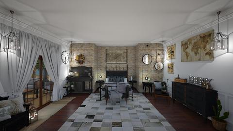 Peaceful Retreat - Bedroom - by Jodie Scalf