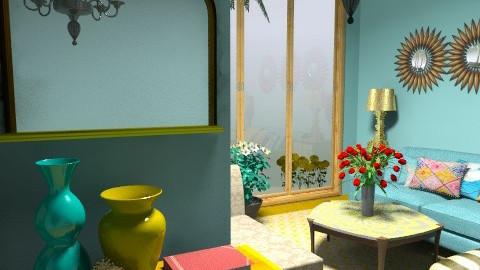 Bohemian Resort Treat - Modern - Living room - by bibiboo