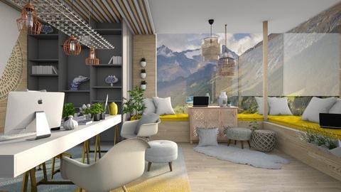 Bohemian Office - Office - by Vlad Silviu