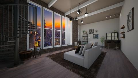 New York View - by Idaastrup