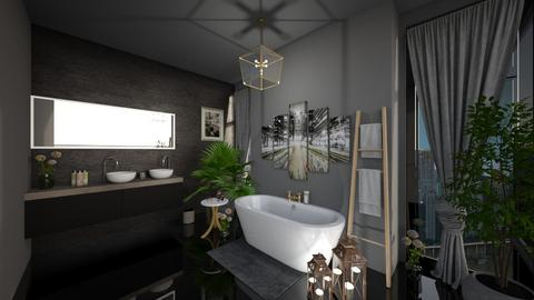 Modern Bathroom _ Boho - Modern - Bathroom - by LunaBradley