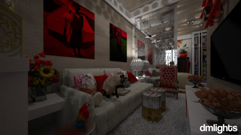 Flat - Living room - by DMLights-user-994540