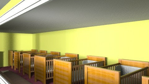 Nursery - Glamour - Kids room - by angelika_gawronska