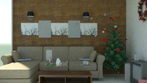 Happy Xm&s - Modern - Living room - by ariseva