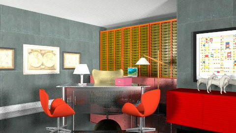 Modern office  - Modern - Office - by Azmi_Ar