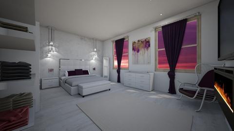 elegant - Bedroom - by MSK