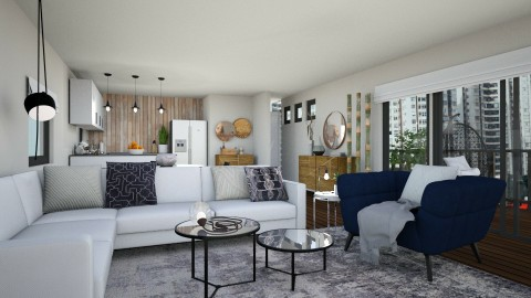 Apartment Redecoration - by Nicolly Moura