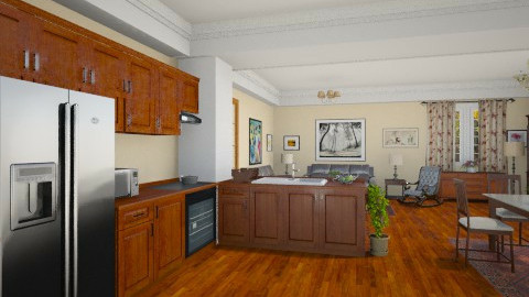 118 - Classic - Kitchen - by GALE88