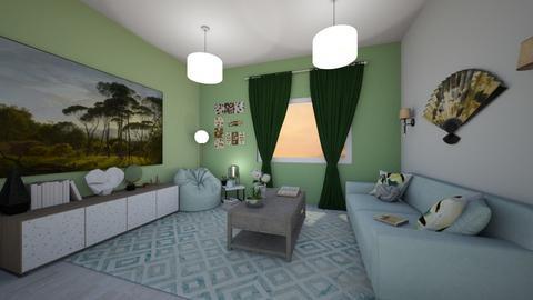 Terrazzoish - Eclectic - Living room - by SpicyMcPie