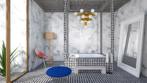 Marble Glam Bath - Glamour - Bathroom - by 3rdfloor